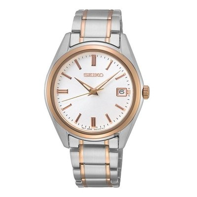 可議價 SEIKO精工 女 簡約經典時尚石英錶 (SUR322P1) 36mm