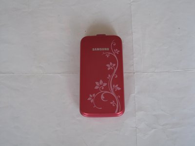 三星躍動繽紛時尚生活 SAMSUNG C3520 折疊式手機 擁有獨特法式浪漫花語圖騰