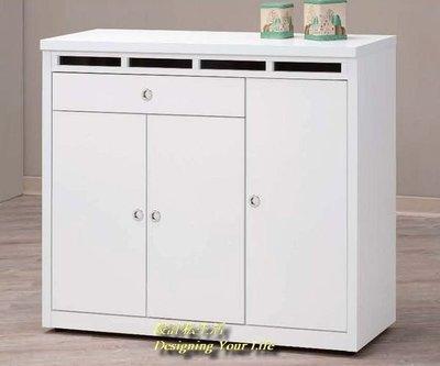 【DYL】夏洛特4尺白色鞋櫃(全館免運費)