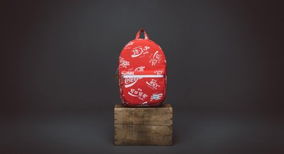(預購商品) Herschel Supply Co coca cola 紅色 可樂 LOGO 印花 帆布 後背包