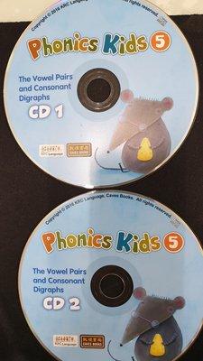 敦煌書局  The Vowel Pairs and Consonant Digraphs Phonics Kids 5 CD2 片