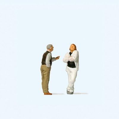 傑仲 (有發票) 博蘭 Preiser 人物組 Arguing couple 28180 HO