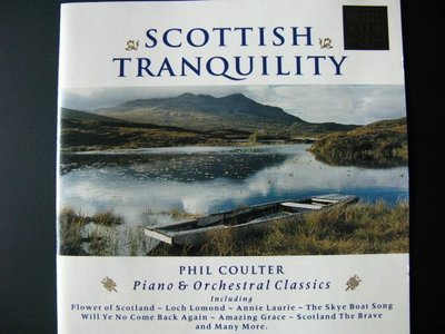 [好東西CD] Phil Coulter  Scottish Tranquility 無IFPI 黃金片 愛爾蘭鋼琴之父
