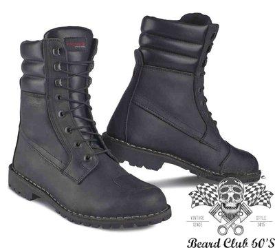 ♛大鬍子俱樂部♛ Stylmartin® Indian Boots 防水 中筒 車靴 防摔靴 cafe 哈雷 重機 黑色