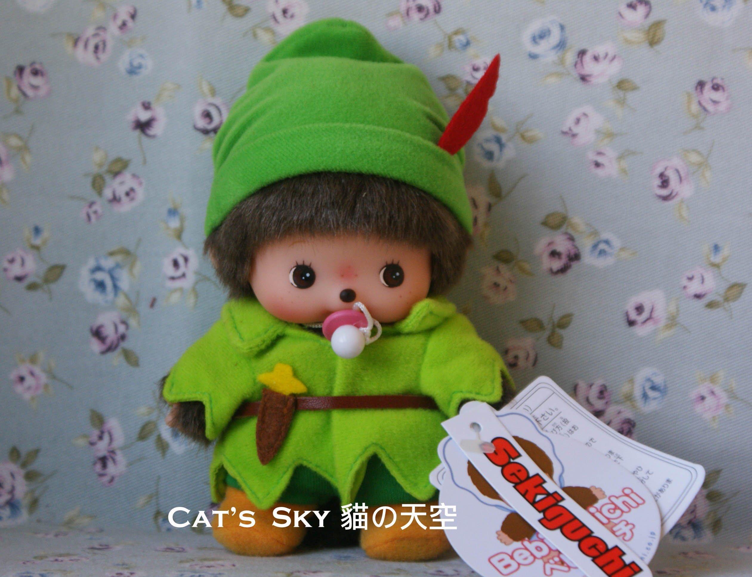 Cat Sky》日本Bebi Monchhichi童話故事主題.彼得潘嬰兒夢奇奇