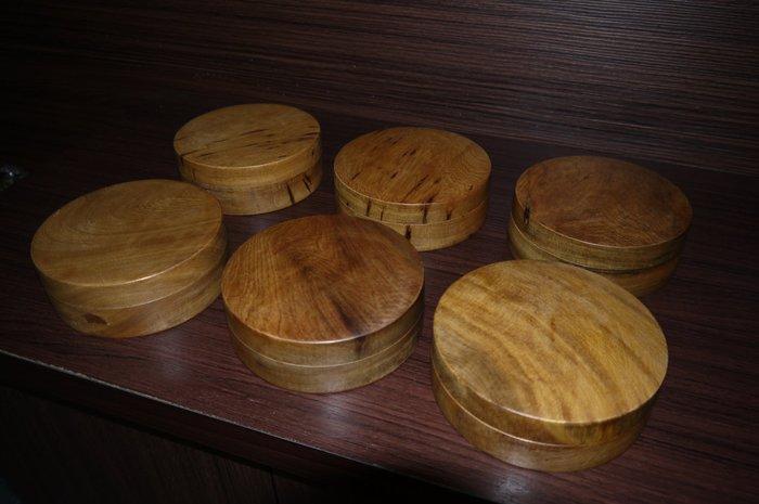 正宗一級品(越南)肖楠養珠盒、香噴噴 (非檜木聚寶盆、檜木盒、龍柏、牛樟、崖柏)