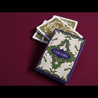 【USPCC撲克】Emerald unicorn playing cards 綠色