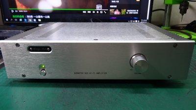 HI FI 高音質 8Ω 200W*2 AB類 後級擴大機