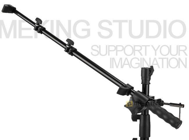 呈現攝影-Selens 手把式反光板夾臂 長120cm 反光板支架 燈架 三節伸縮 離機閃人像棚拍補光 canon 58