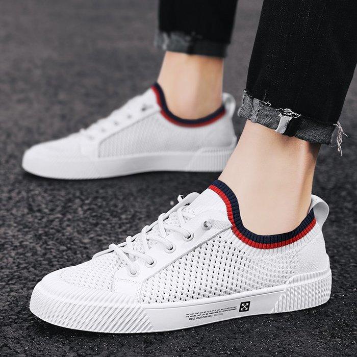 TIME&NES~鞋子男潮鞋2020新款板鞋男士鞋潮流男鞋夏季透氣休閒鞋小白鞋布鞋