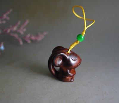 印度小葉紫檀  -  鼠 你有錢 -   泥料 高油密老料    把件 掛件  T802