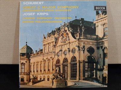 Krips,Schubert-Sym No.9The GreatNo.8Unfinished克利普斯指揮演繹-舒伯特第九號偉大第八號未完成交響曲