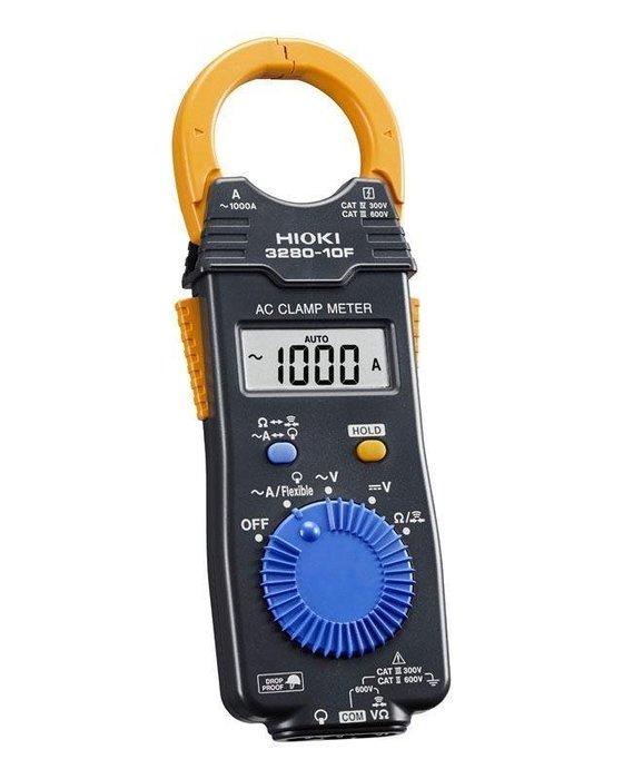 TECPEL 泰菱 》HIOKI 3280-10F 電流勾表 1000A 交流 日製 原廠測棒 公司貨 現貨