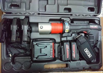 (my工具)美國RIDGID里奇18V充電式壓接機 白鐵管壓接機 可共用牧田18v電池