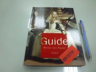 6980銤:B9-3cd☆2001年出版『Guide MUSEO DEL PRADO』西班牙普拉托美術館 畫作簡介
