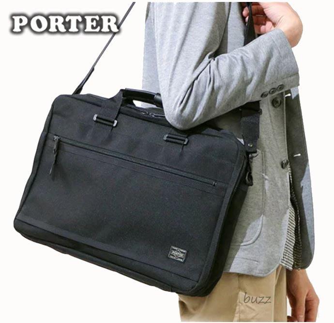 巴斯 日標PORTER屋- 二色預購 PORTER CLIP 手提-斜背公事包 550-08959