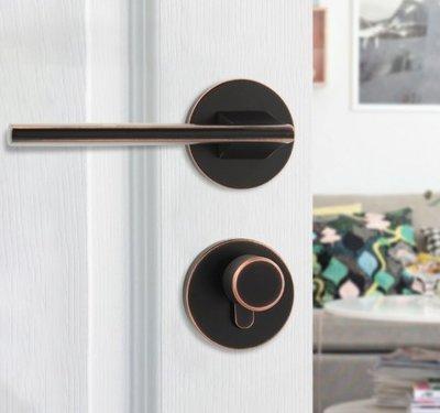 Mute 門鎖 室內 臥室 房間 門鎖 歐式 簡約 衛生間 廁所 靜音門鎖