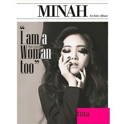 Girl's Day珉娥Min Ah Mini Album Vol. 1 - I am a Woman too韓國版專輯