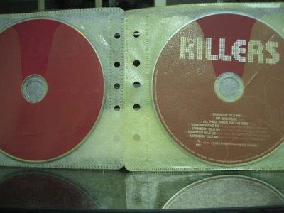 宣傳裸片~殺手樂團KILLERS(聲名大噪Hot fuss)+宣傳REMIX EP,保存良好