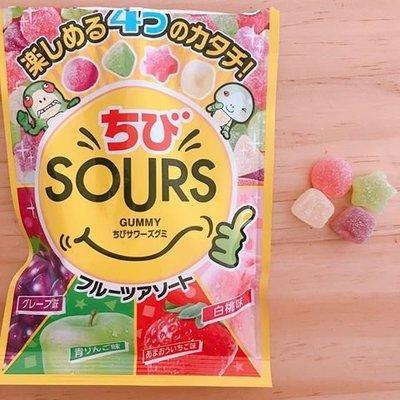 諾貝爾SOURS 綜合水果軟糖80g