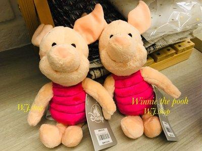 現+預☆汪將☆美國迪士尼 小熊維尼 粉紅小豬 piglet 皮傑 娃娃 絨毛布偶 8.5吋 21.5公分