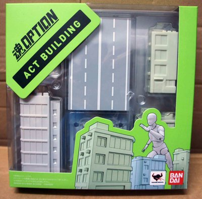 【想飛玩具】BANDAI 魂OPTION ACT BUILDING 建築物 普通版(代理版)