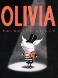 *小貝比的家*OLIVIA SAVES THE CIRCUS /硬頁書