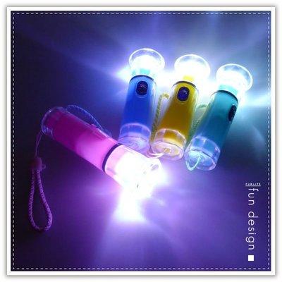 【贈品禮品】A2317  彩色魚眼LED手電筒/LED燈/夜釣夜遊/隨身手電筒/手電筒吊飾/禮品贈品