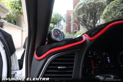 【精宇科技】Top Gauge HYUNDAI ELANTRA SPORT專用冷氣出風口 渦輪錶 水溫錶 排溫錶 四合一