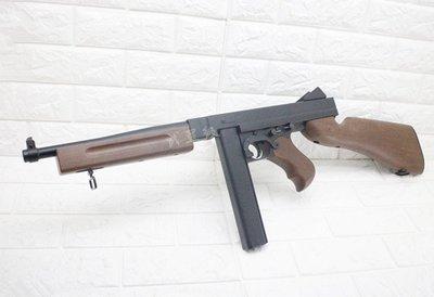 台南 武星級 WELL M1A1 電動槍 D98( AEG湯普森1928打字機教父美國隊長二戰BB彈BB槍AR步槍M4