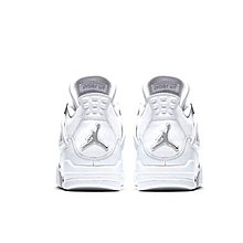Nike Air Jordan 4 Retro Pure Money白銀 AJ4 休閒運動 308497-100 男