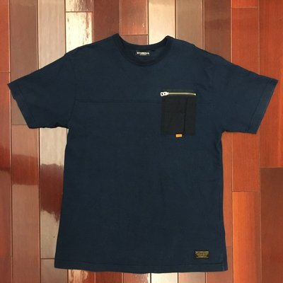 [RiggaLAB] INTERBREED POCKET 口袋 TEE 短袖 / 工裝 / 拉鍊 / 天竺棉