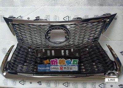 Ct200h 18 黑電鍍 sport 中網 水箱罩 水箱網  前網