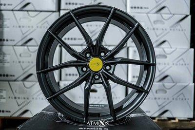 超鑫鋁圈 Atmos X Wheels X07 19吋旋壓鋁圈 5孔112 5孔114 5孔108 5孔120 平光灰