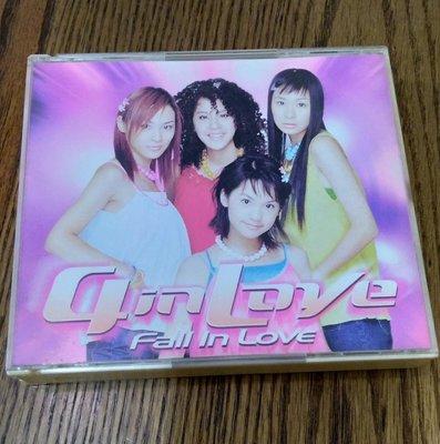 [音樂聽] 4 in love fall in love (附側標 ,海報年曆,少女寫真歌本) 2000 BMG