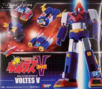 Action Toys Mini Action 02 V型電磁俠 全新