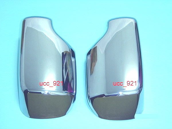 【UCC車趴】BMW 寶馬 E46 3系 98-03 鍍鉻後視鏡蓋 一組750