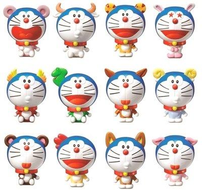 哆啦A夢 12生肖 12隻大全套 ( 2011  麥當勞 )
