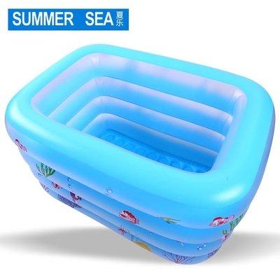 充氣泳池 寶寶折疊家用新生嬰兒加厚充氣幼兒童游泳桶大號室內洗澡桶   全館免運