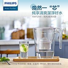【Philips 飛利浦】除鉛 除氯 除農藥 超濾濾水壺/ 帶計時器-長效版 3.4L (AWP2941) SGS認證