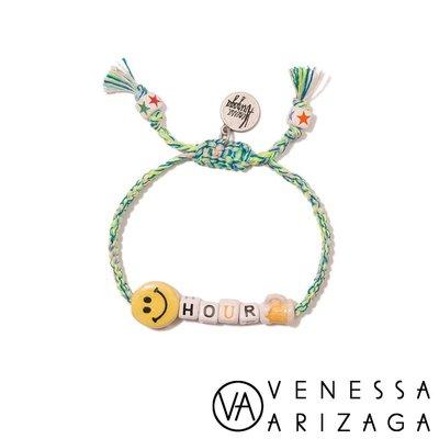 Venessa Arizaga HAPPY HOUR 笑臉手鍊 彩色手鍊