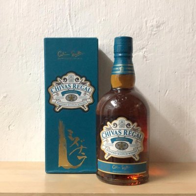 Chivas Regal Mizunara Blended Scotch Whisky 芝華士水楢木桶特別版(香港行貨)