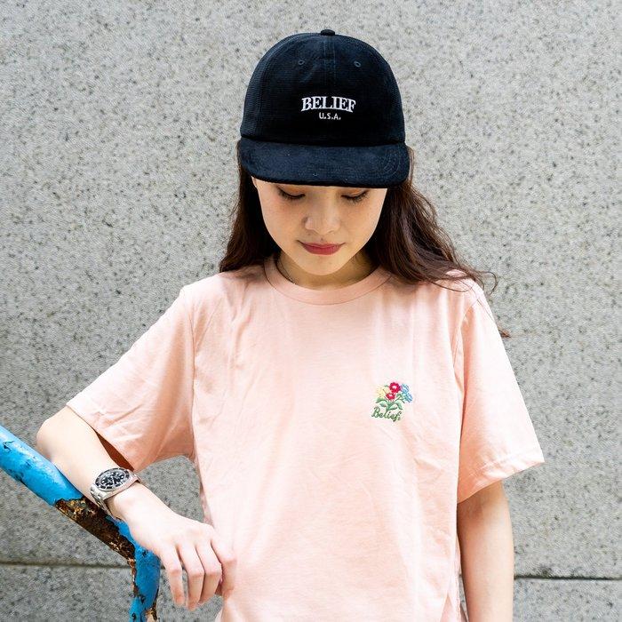 【A-KAY0】BELIEF 男女 ARC 6 PANEL 六片帽 黑【BLF19SSA6BK】