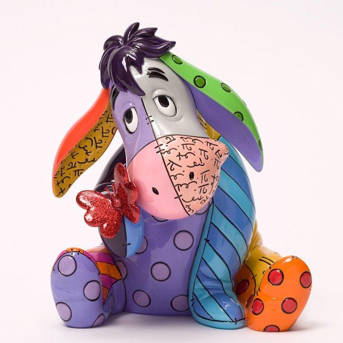 🗽Dona美國代購🗽預購 Enesco 迪士尼小熊維尼屹耳britto彩色 塑像 公仔擺飾裝飾