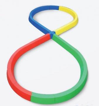 【綠色大地】 CONTI 幼兒平衡8字步道 平衡訓練 幼教玩具 MOLTEN ANGO XONNES