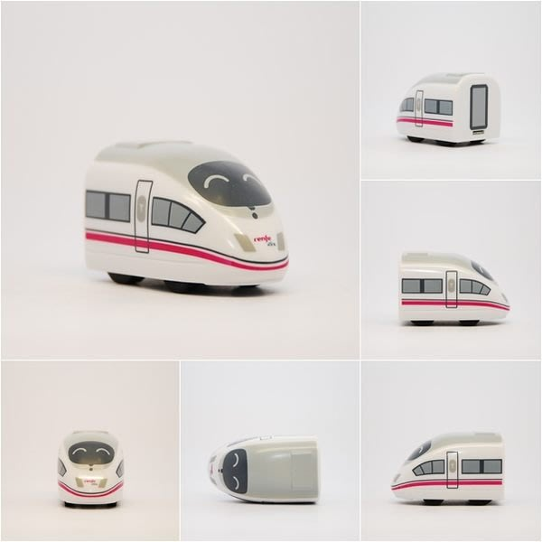 TRAIL 鐵支路 Q版迴力車 西班牙高鐵AVE S103 QV027