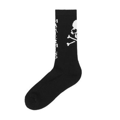 MMJ mastermind world socks 黑色 骷髏 長襪 襪子