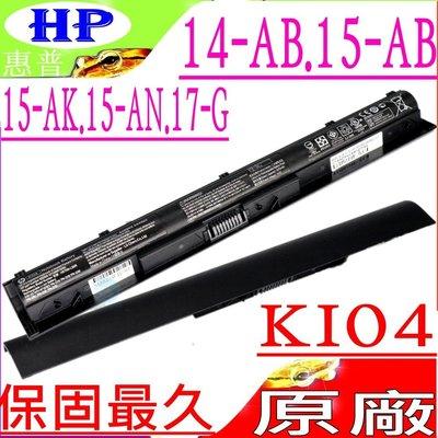 HP KI04 電池(原廠)-惠普 15-AK, 15-AK014tx, 15-AK015tx, 15-AK016tx 台中市