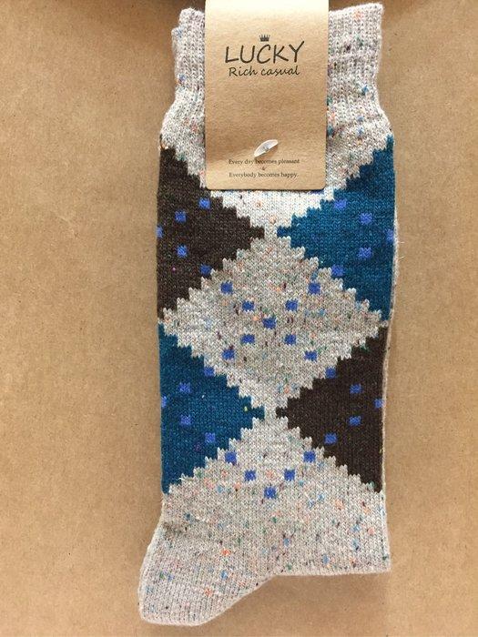[變身館日本服飾]~LUCKY~中筒襪~袜子~襪子~民族風~涼鞋~靴子~日本購入~全新現品~出清價
