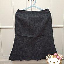 【OLIVE  des OLIVE】超可愛灰色毛料短裙(H&M、ZARA、forever21、UNIQLO、GAP)